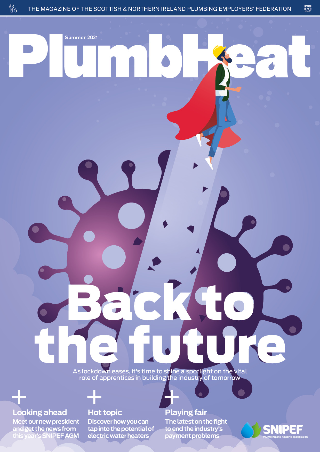 Cover of theSummer 2021 issue